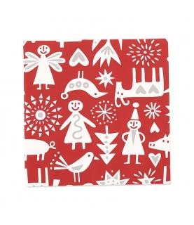 Klippan tovaglioli di carta Merry X-mas